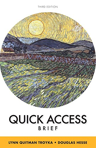 Quick Access Brief Plus MyWritingLab without Pearson eText -- Access Card Package (3rd Edition) (Quick Access Edition 3rd)
