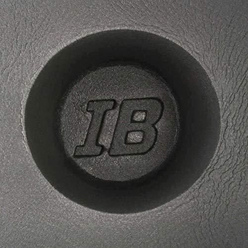 The Install Bay IBBAF60 6.5 inch Foam Car Audio Black Speaker Baffle (Pair) 6.5