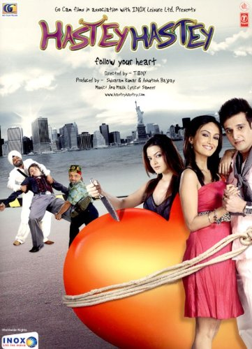 Hastey Hastey (2008) (Hindi Comedy Film / Bollywood Movie / Indian Cinema DVD)