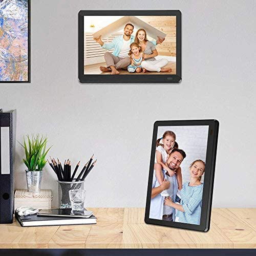 Atatat 8 Inch WiFi Digital Picture Frame with FHD 1920x1080 IPS Touch Screen, Auto-Rotate, Share Photos by means of Email, App, Portrait or Landscape