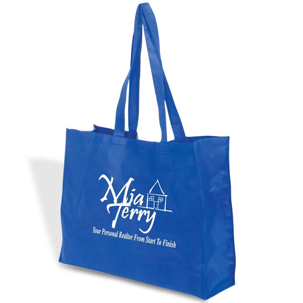 Mega Show Tote - 100 Quantity - $1.85 Each - PROMOTIONAL PRODUCT / BULK / Branded with YOUR LOGO / CUSTOMIZED by Sunrise Identity (Image #2)