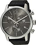 Calvin Klein  Men's City Watch - K2G271C3 Cool Grey/Black One Size