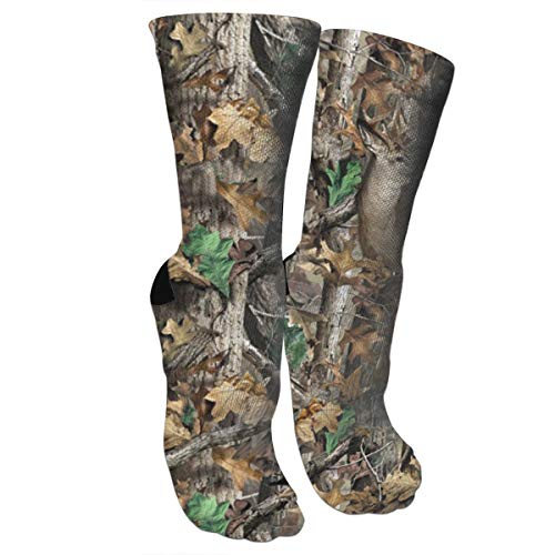 New Realtree Camo Wallpapers Athletic Tube Stockings Women's Men's Classics Knee High Socks Sport Long Sock One Size
