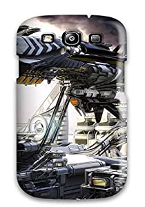 NaDANXg4210tZlSp Spaceship Awesome High Quality Galaxy S3 Case Skin