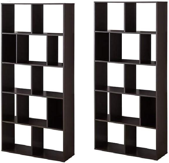 Best modern bookcase: Mainstay Home Shelf Bookcase