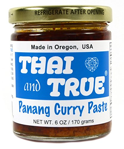 THAI AND TRUE Curry Panang Paste, 6 OZ
