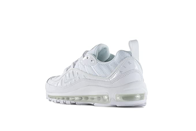 d88dcaa1ac Nike Air Max 98 Fearless 90S Pure Premium White (7): Amazon.co.uk: Sports &  Outdoors
