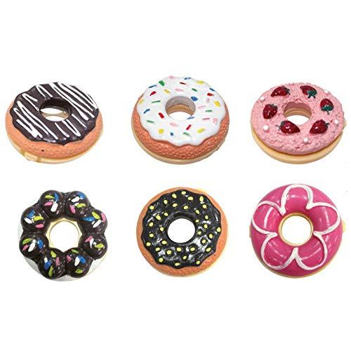DISOK - Bálsamo Labial con forma de Donut. Regalos para ...