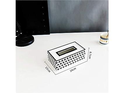 Godlife Dispensador de Papel Caja de Madera portátil del Tejido de la Caja de la servilleta