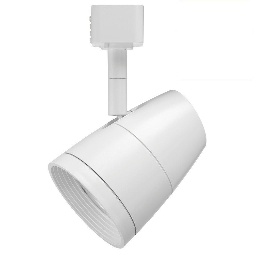 Juno Lighting R600L G2 2700K 80CRI PDIM NFL WH Dimmable 9.5W LED Trac Head, 50W Equivalent, White