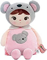 Me Too Baby Cartoon Plush Backpack Anti-Lost Shoulder Bags for 1-3 Years Old Kids