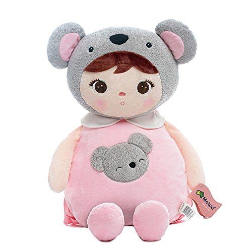 Me Too Toddler Kids Backpacks Plush Bags Kepple Little Girls Gift Kindergarten Animal Backpacks (Koala Girl) ...