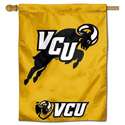 (VCU Rams Jumping Ram House Flag Banner)