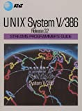 img - for UNIX System V Release 3.2 Streams Programmer's Guide (AT&T UNIX System V Library) book / textbook / text book
