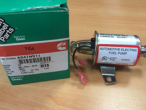 Onan Fuel Pump A047N911 149-2646 Cummins Genuine