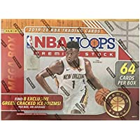 $199 » 2019-20 Panini NBA Hoops Premium Stock Basketball Mega Box 64 ct.