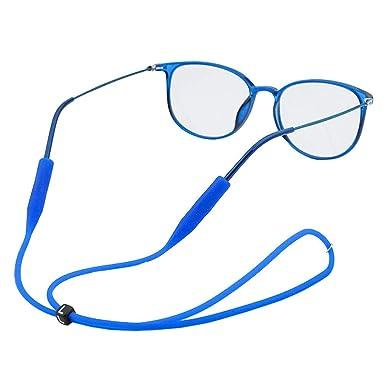 Xiang Ru - Correa ajustable para gafas de sol (silicona ...