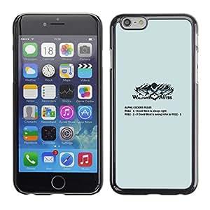 Caucho caso de Shell duro de la cubierta de accesorios de protección BY RAYDREAMMM - Apple Iphone 6 Plus 5.5 - Mi símbolo del dragón