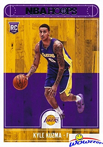 Kyle Kuzma 2017/18 Panini Hoops #277 ROOKIE Card in MINT Condition! Shipped in Ultra Pro Toploader to Protect it! Los Angeles Lakers Top NBA Draft Pick and Young Superstar! WOWZZER!