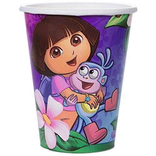 - Dora's Flower Adventure 9 oz Cups (Set Of 8)