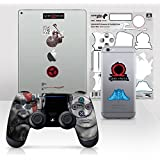 Controller Gear Officially Licensed God of War Dualshock 4 Wireless Controller and Tech Skin Set Father and Son - PlayStation 4