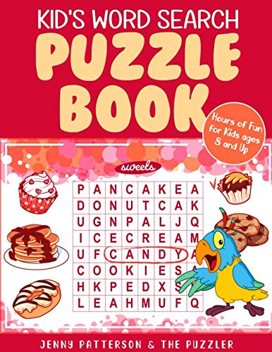 (KID'S WORD SEARCH PUZZLE BOOK: FUN PUZZLES FOR KIDS AGES 8 AND UP)