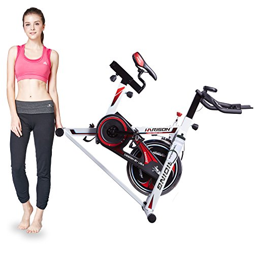 Harison Exercise Bike Stationary Indoor Cycling Bike With