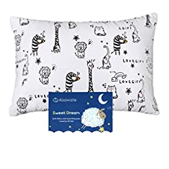 Toddler Kids Pillow with Pillowcase,Soft...