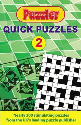 """""""Puzzler"""" Quick Puzzles 2 ebook"""