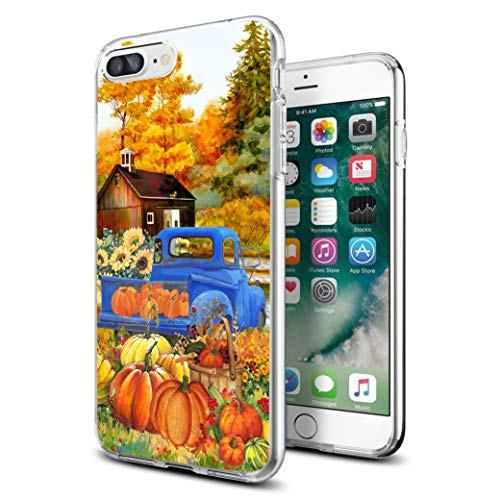 Halloween Iphone 5 Covers (Cocomong Thanksgiving Pumpkin Case for iPhone 7 Plus iPhone 8 Plus Case 5.5