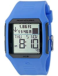 Rip Curl Men's A1119-BLU Rifles Tide Digital Display Quartz Blue Watch