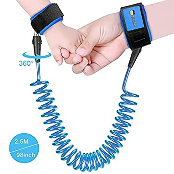 Hot Toddler Kids Safety Walking Harness Child Anti Lost Wrist Leash Hand Belt