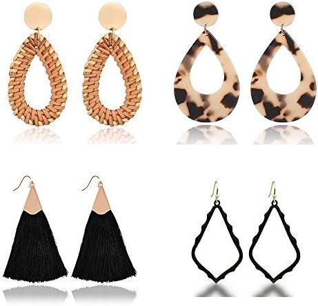 Handmade Earrings Lightweight Geometric Statement product image