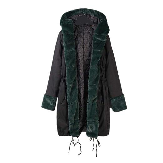 Amazon.com: AOJIAN Women Jacket Long Sleeve Outwear Thick Warmer Hooded Parka Overcoat Coat: Clothing