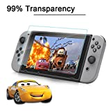 Besprotek Screen Protector for Nintendo Switch, <2-Pack> Tempered Glass Premium High Definition Clear, Anti-Scratch / Fingerprint, Easy Install (Switch / 2Pack)