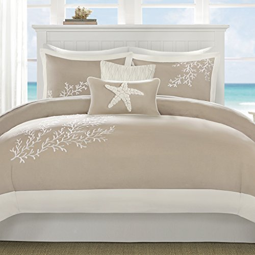 Harbor House Coastline Duvet Cover Set Full/Queen Khaki ()