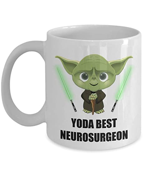 Amazon.com: Yoda Best Neurosurgeon taza – Regalos de fiesta ...