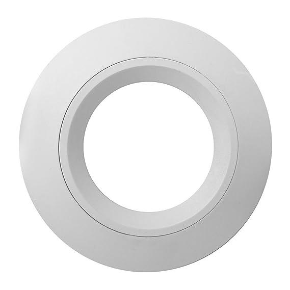 SEBSON techo empotrable blanco/Foco (LED/halógeno), aluminio, Weiß, 12er Set: Amazon.es: Iluminación