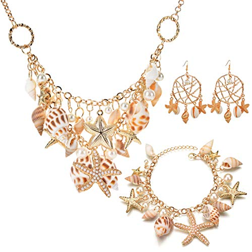 opove Set%EF%BC%8CPuka Necklace Bracelet Adjustable product image