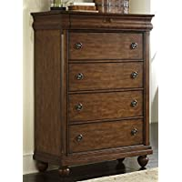 Liberty Furniture 589-BR41 Traditions 5-Drawer Chest, 40 x 18 x 54, Rustic Cherry
