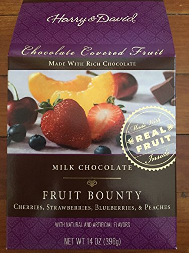 Harry & David, Milk Chocolate Fruit Bounty, 14 Oz. Box
