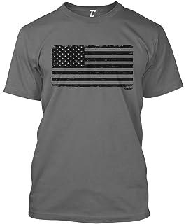 da2e7534559e Amazon.com: Rothco Distressed US Flag Athletic Fit T-Shirt: Clothing