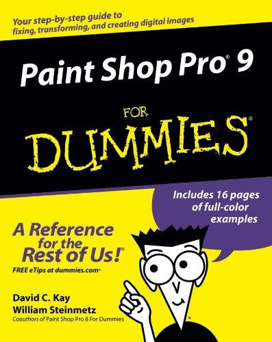 Download Paint Shop Pro 9 For Dummies Pdf