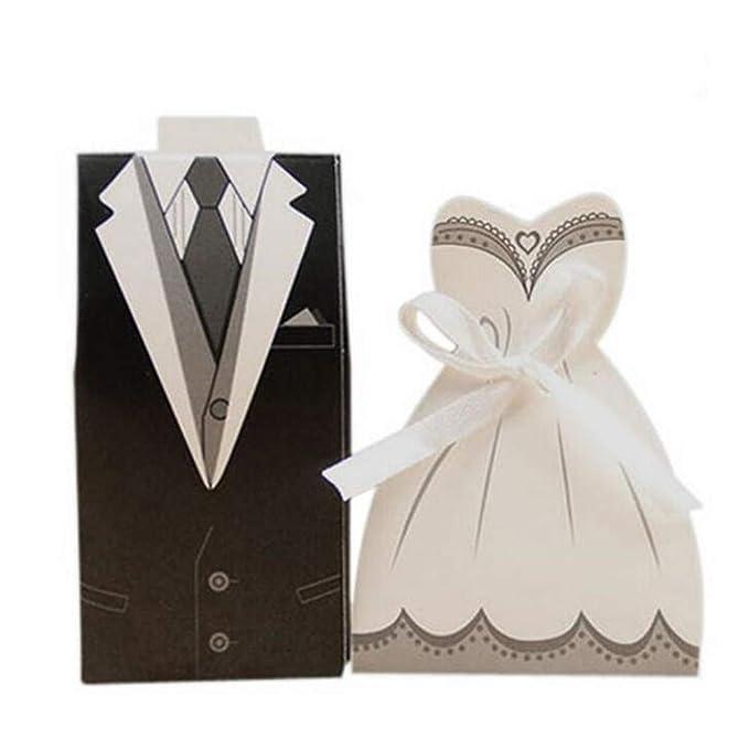 ARAYACY Vestido Blanco Y Negro Europeo Caja De Dulces/Caja De ...