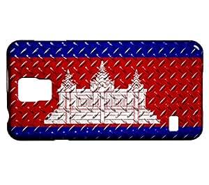 Funda Carcasa para Galaxy S5 Mini Bandera CAMBOYA 05