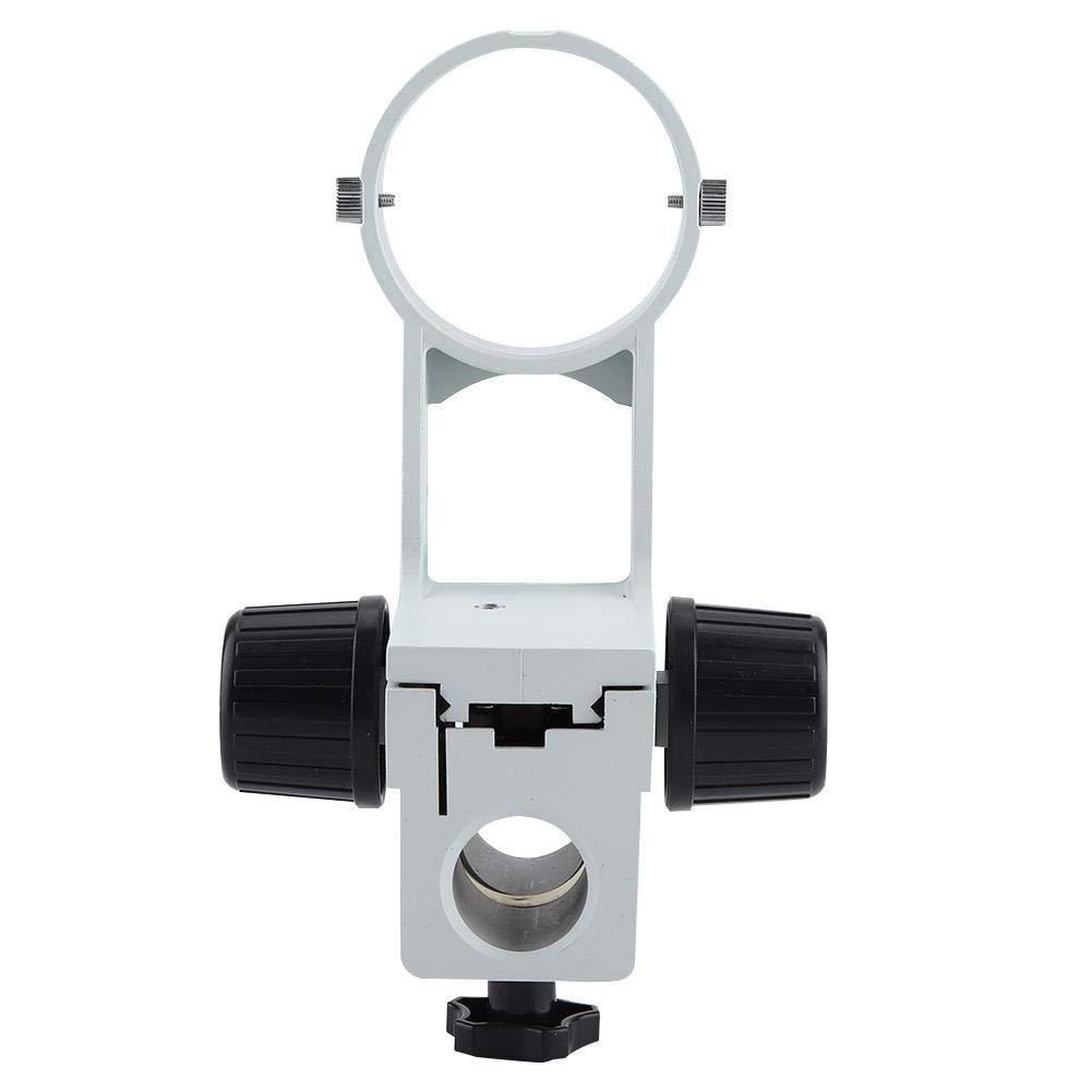 Stereo Microscope Focusing Bracket Lens Aperture 76mm Microscope Column Aperture 32mm by Hilitand