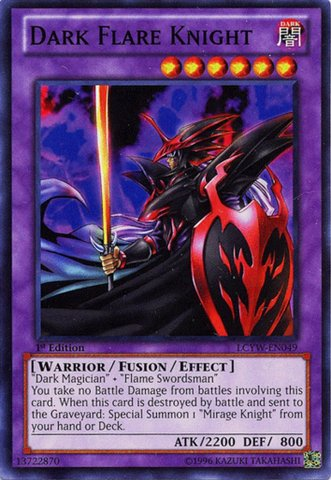 Yu-Gi-Oh! - Dark Flare Knight (LCYW-EN049) - Legendary Collection 3: Yugi's World - 1st Edition - (Dark Knight Collection)