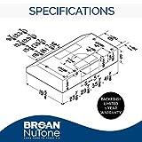 Broan-NuTone BCSD142WW BCSD, 42-Inch, White