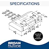 Broan-NuTone BCSD124BL BCSD, 24-Inch, Black