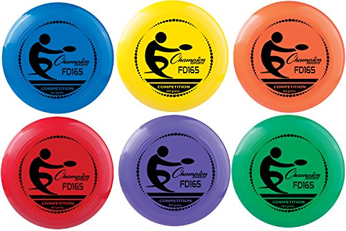 Champion Sports 165 Gram Plastic Disc - Assorted Colors